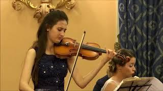 I. Stravinsky - Suite Italienne I mov (Introduzione) - Emma Arizza e Ana Bursac