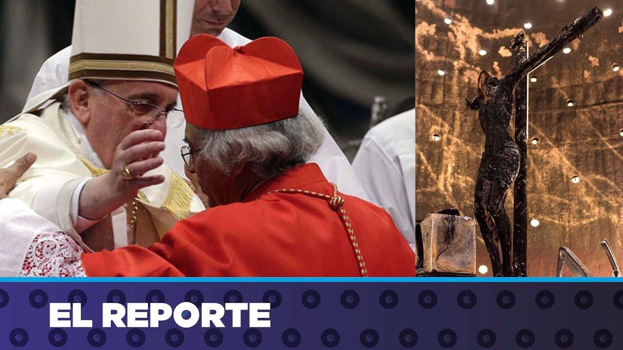 El Vaticano demanda investigación de incendio en Catedral de Managua