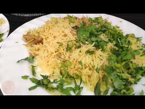 Готовим бирьяни. Индийский плов с курицей из риса басмати