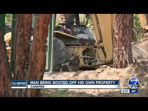 Man being booted off his own property