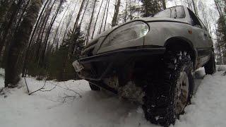 GoPro: АнтиАлко Выезд 02.01.2015.Chevrolet Niva