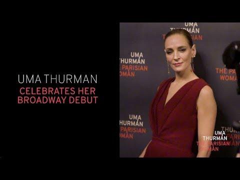 Uma Thurman Opening Night | The Parisian Woman on Broadway