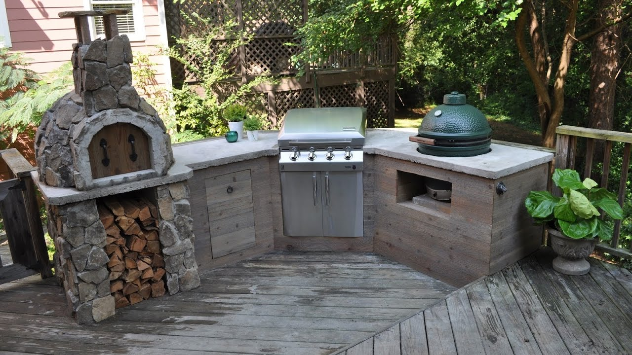 Outdoor Kitchen Diy