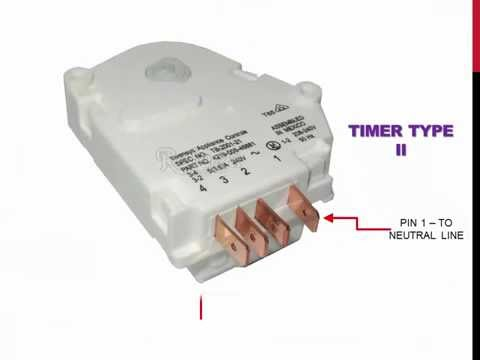 ge refrigerator not defrosting defrost timer replacement wr9x489 8 02