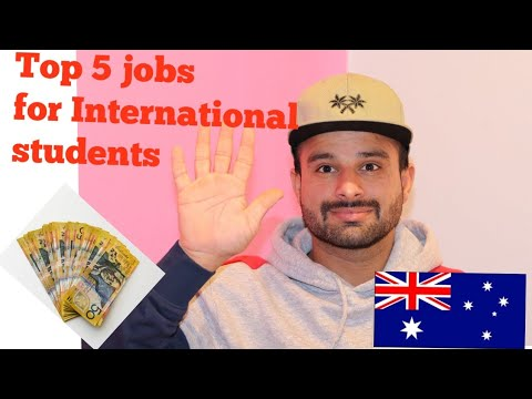 Part Time Jobs For Students In Australia?