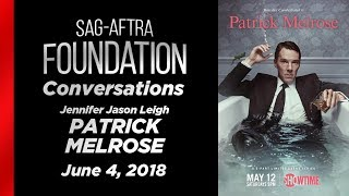 Conversations with Jennifer Jason Leigh of PATRICK MELROSE