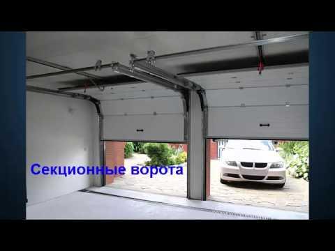 Автоматические подъёмные гаражные ворота с установкой А