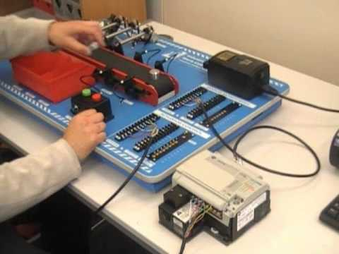 Teaching Programmable Logic Control PLC with the ST290 Industrial Control Module from LJ