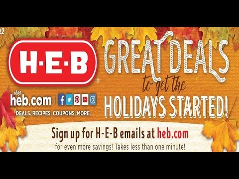 heb weekly ads and s valid until Novmber 8 2016 weekly ads ... on heb apply now, heb floor plans, heb vendor application,