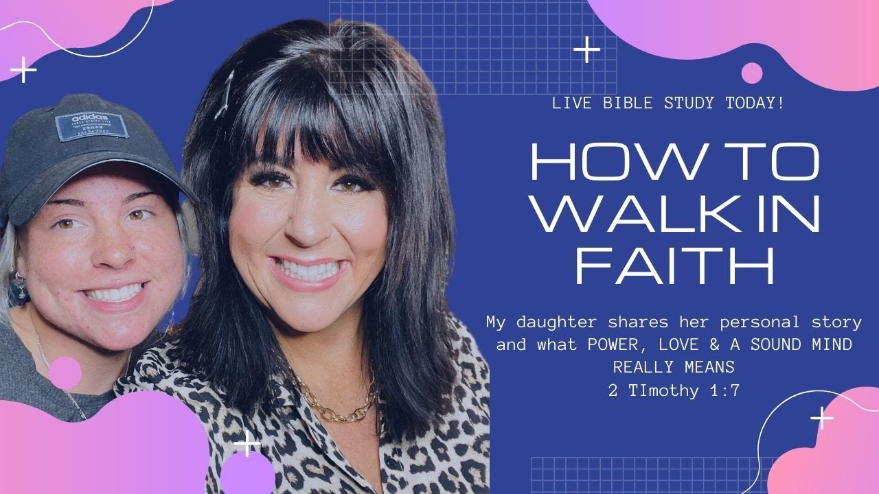 LIVE TEACHING AND LIVE TESTIMONY WITH MY DAUGHTER