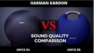 Onyx Studio 4 Vs Onyx Studio 5 - Sound Quality Comparison - Bluetooth Speaker