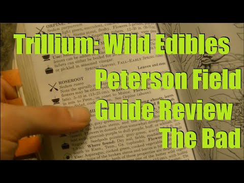 Peterson Field Guide to Edible Plants Review - The Bad