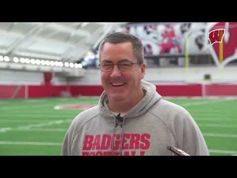 Wisconsin Badgers - Wisconsin football opens spring camp Tuesday
