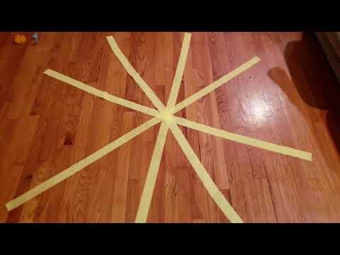 DIY spiderweb