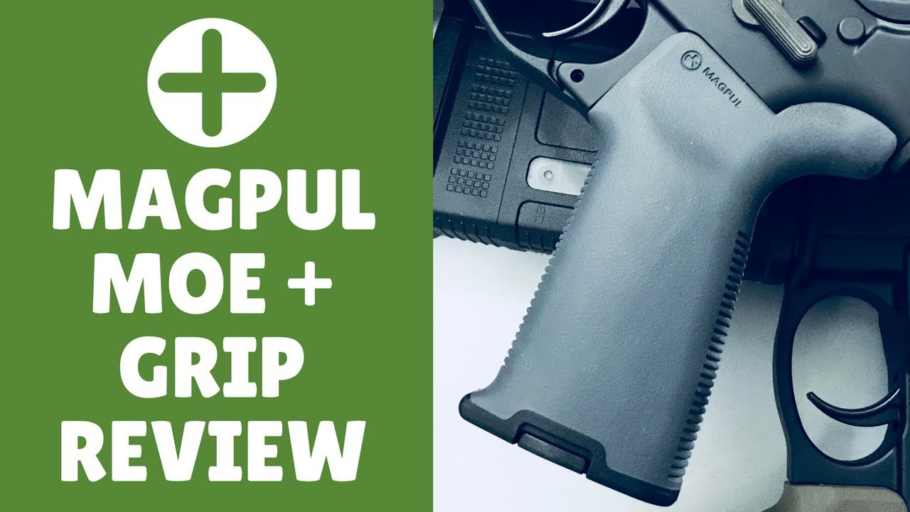Magpul MOE Plus Grip Review (Best Grip For An AR 15?)