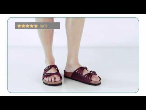 4eb6b0c7 Birkenstock Granada Soft Footbed - Planetshoes.com - YouTube