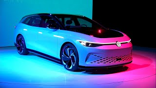 Full Reveal: Volkswagen ID Space Vizzion concept EV wagon