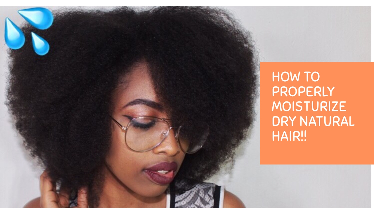How To Properly Moisturize Dry Natural Hair Without Washing 4c
