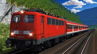 Let's Play Train Simulator 2018 | BR 141 Knallfrosch | Regionalbahn Koblenz - Trier Reloaded / JTG