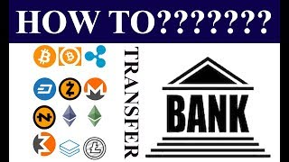 How to transfer cryptocurrency to bank account