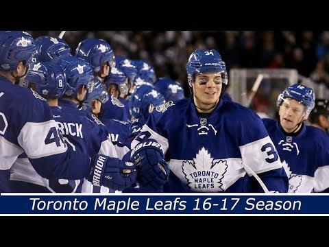 Toronto Maple Leafs 16-17 Season