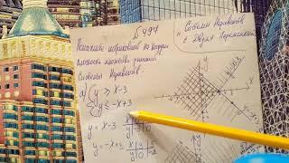 497 Алгебра 9 класс. Системы Неравенств с двумя переменными