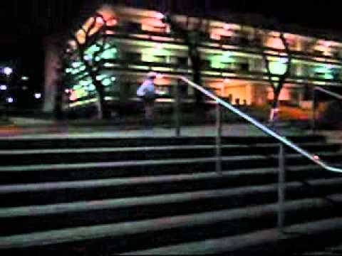 Downhill Mountain Bike Jumps Stair Gaps at Cal Poly Pomona