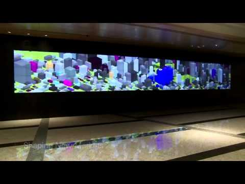 Deutsche Bank / Multimedia Wall - Hong Kong (MicroTiles)