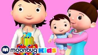 Growing Up Song | LBB Songs | Learn with Little Baby Bum Nursery Rhymes - Moonbug Kids