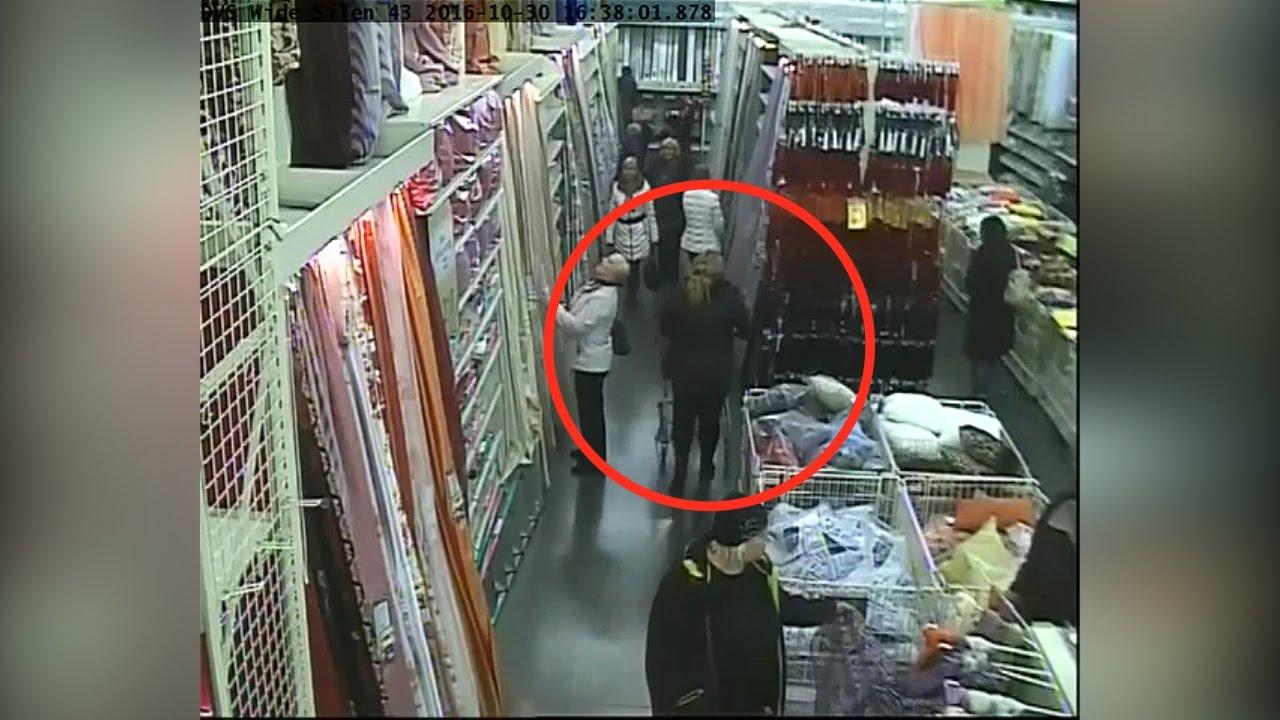Цыганки украли кошелёк у покупательницы магазина