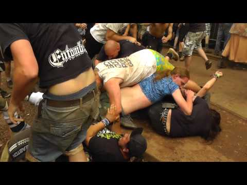 Crepitation   Equine Phallic Impalement live at Obscene Extreme 2013   FULL HD