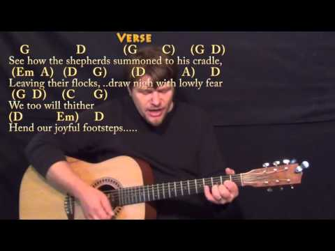 O Come All Ye Faithful chords (ver 2) by Hymn (Simple Version ...