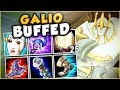 THESE NEW GALIO BUFFS MAKE HIM LITERALLY GOD TIER! NEW BUFFED GALIO TOP GAMEPLAY! League of Legends