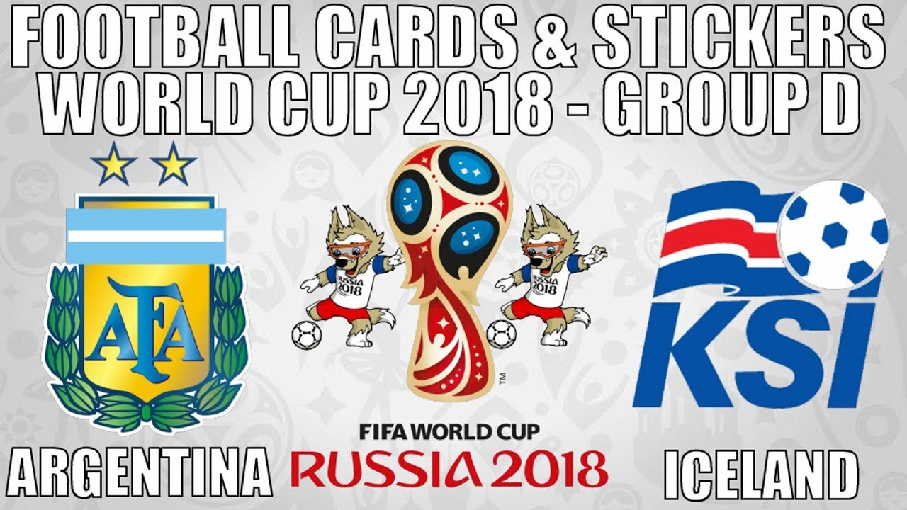 Argentina v iceland ⚽ group d ⚽ football cards stickers fifa world cup 2018 ⚽ panini ⚽ match 6