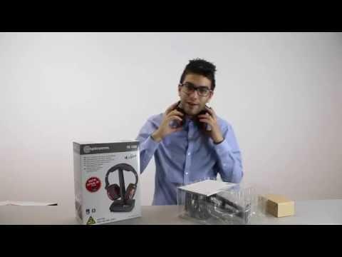 amplicomms | HS 1300 Stereo-Funkkopfhörer (Unboxing) | test.net
