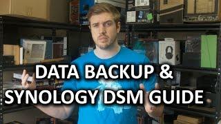 Data Storage 3-2-1 Featuring Synology DSM 5