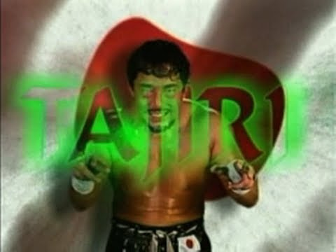 "Tajiri's 2004 Titantron Entrance Video Feat. ""Green Mist"" Theme [HD]"