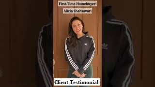 Gillian Cunningham Realty Group: Alicia Shahsavari First-Time Homebuyer