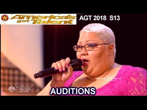 "Christina Wells   sings ""I Know Where I've Been"" AWESOME  America's Got Talent 2018 Auditions AGT"