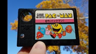 Classic Game Room - PAC-MAN review for MSX