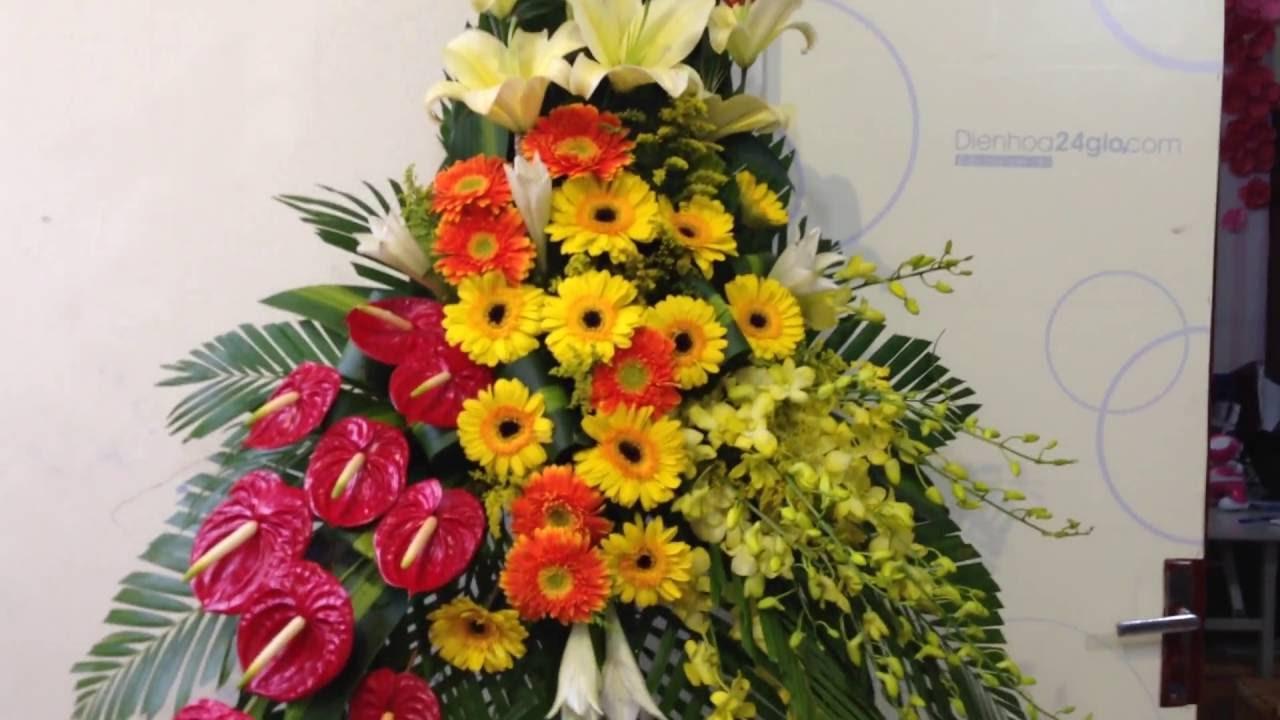 Hoa Khai Truong: Hoa Khai Trương, Hướng Dẫn Cắm Lẵn Hoa Chúc Mừng Khai