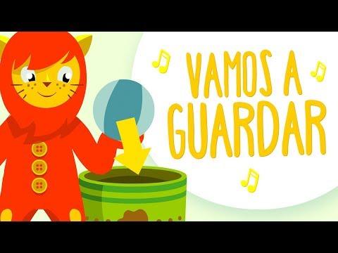 Canción para recoger los juguetes 🎵 VAMOS A GUARDAR 🎵 Canciones infantiles de Nene León