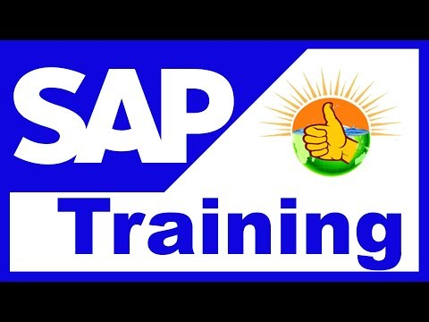 SAP Tutorial For Beginners | SAP Training Videos - Step by Step