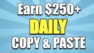 Earn $250 00+ in ONE Day JUST Copy & Paste Ads