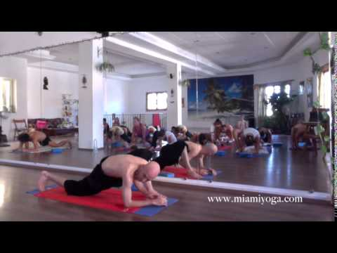 Fred Busch Full Yoga Class - Live From Europe Filmed at Teacher Training