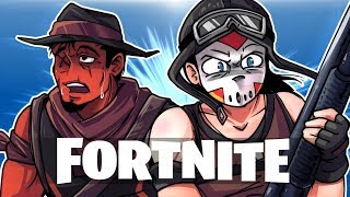 FORTNITE BR - SeriousLirious and Sleepy Toonz! (DUO Match!)