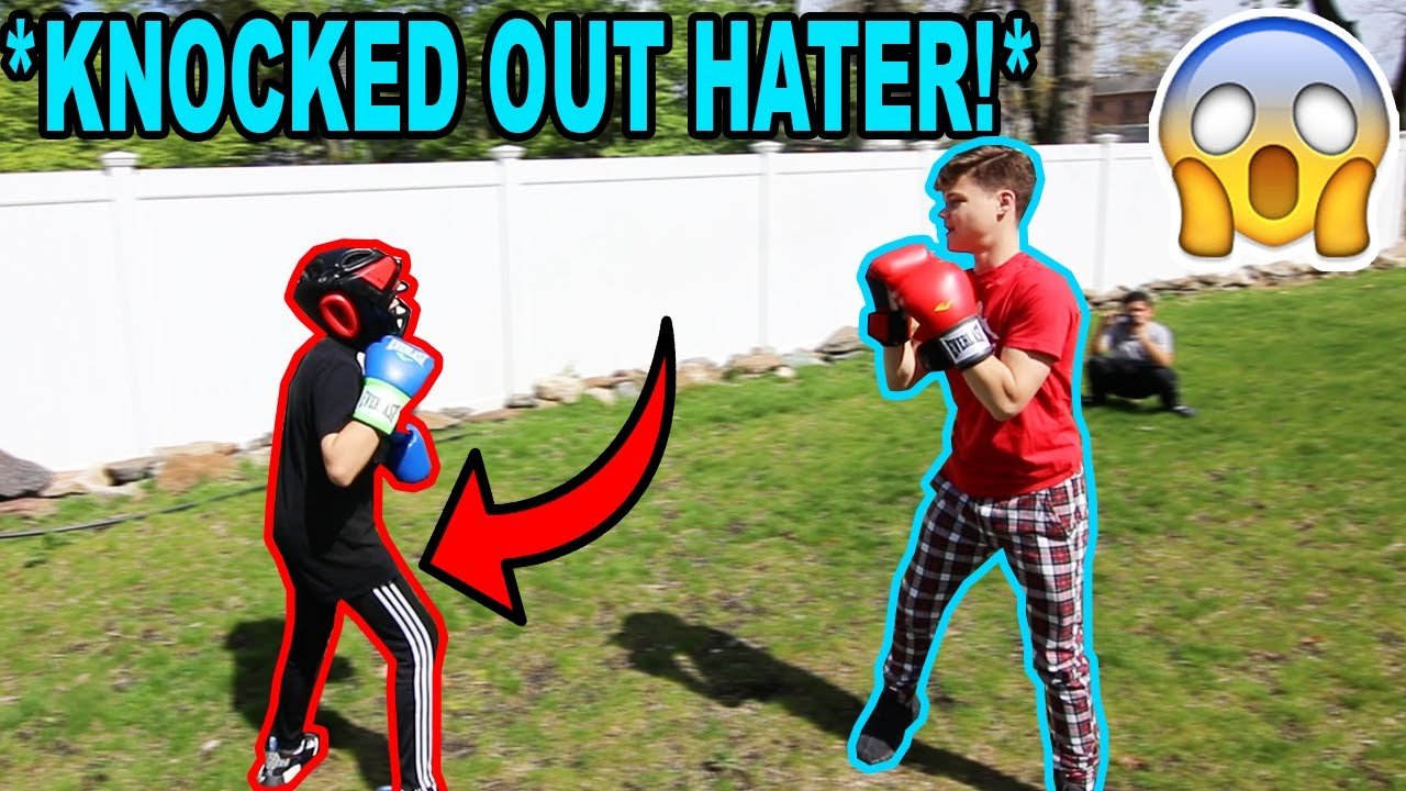 Download BOXING A HATER! *KNOCK OUT*