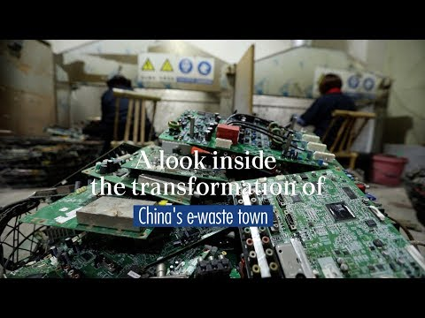 A Look Inside The Transformation Of China's E-waste Town