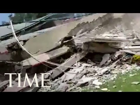 Download Youtube: Rescuers Search For Survivors At Elementary School Destroyed By Mexico City Earthquake | TIME