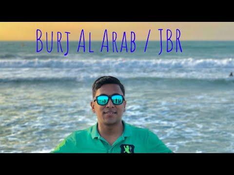UAE Travel - Vlog 9   Bur Dubai   Burj Al Arab   Jumeriah Beach Residence